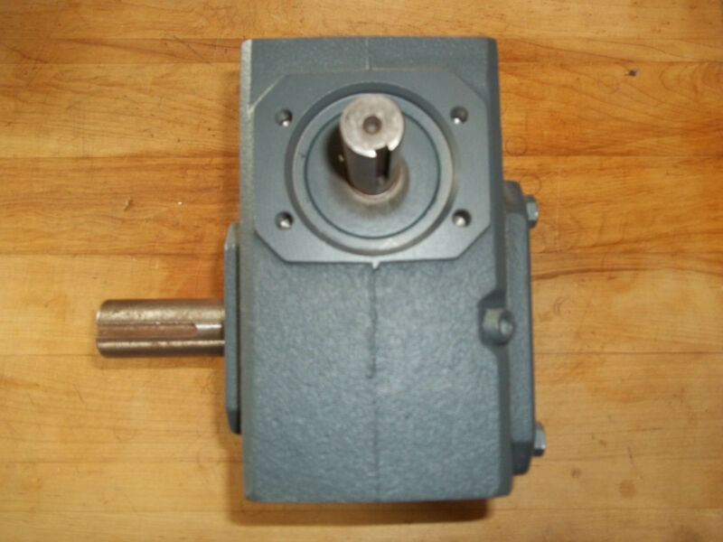 NEW FALK RIGHT ANGLE WORM SPEED REDUCER 3 HP (10:1 RATIO) 1238WB2A
