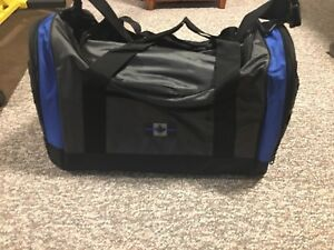 Thin Blue Line police recognition duffel bag