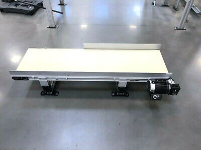 Dorner 75046915 Flat Motor-driven Belt Conveyor 38 Hp 5-long X 18 Wide Belt