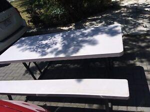 Table de  pique-nique Rubermaid