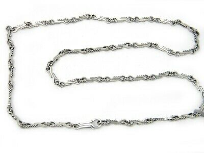 "David Yurman 26"" Mens Shipwreck Cable Chain Necklace in Sterling Silver NWT"