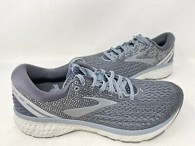 NEW! Brooks Men's Ghost 11 Lace Up Athletic Shoes Dark Grey #11028 200ABCD tk