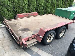 Car trailer JDJ trailer 12' long