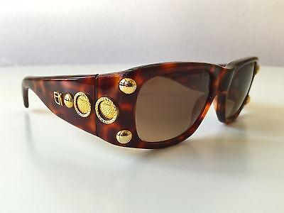 EMMANUELLE KHANH Brille EK508-49 Square Butterfly Frame Eyeglasses Occhiali NOS DGoPluX
