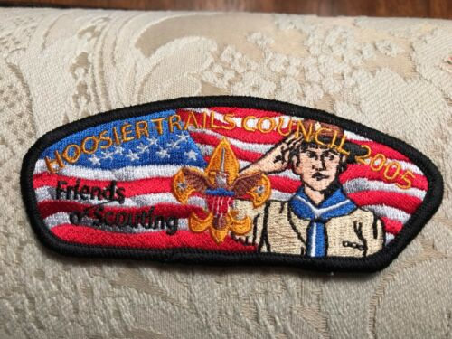 BSA Hoosier Trails Council Indiana FRIENDS OF SCOUTING FOS 2005  CSP MINT RARE