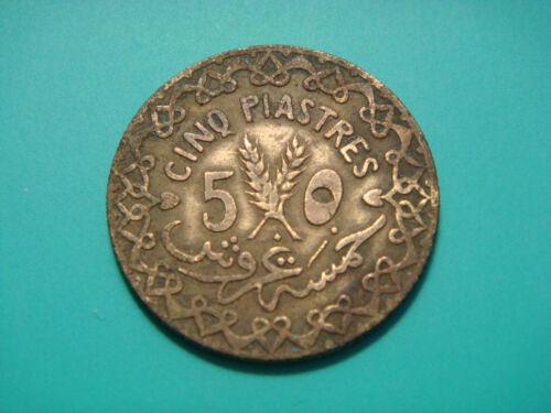 Syria 5 Piastres, 1935