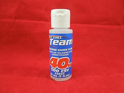 Team Associated 40 Weight Silicone Shock Oil Fluid 5423 Traxxas Rc10 Losi