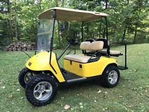 2007 Lifted EZ-GO Gas Golf Cart with Extras