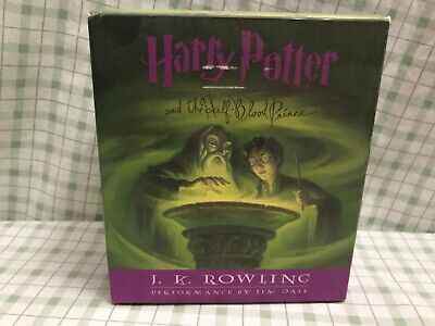 Harry Potter and the Half-Blood Prince Audio CD Full Set. Read By Jim