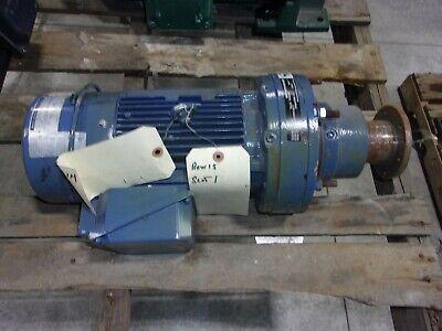 Sumitomo Sm-cyclo 3ph Gear Motor 2hp 1740rpm 171 V-90l Frame Cnfms26120ycb17