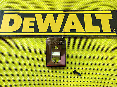 DeWALT N268241 BELT HOOK KIT FITS 12V & 20V MAX DRILLS DRIVE