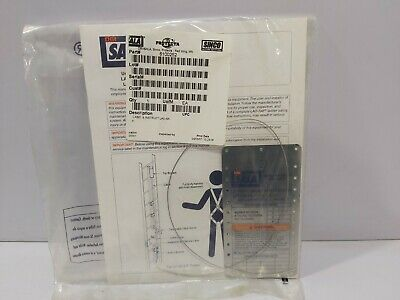 Dbi Sala 6100252 Lable Instruct Lad-saf 5-pcs Lot Sale
