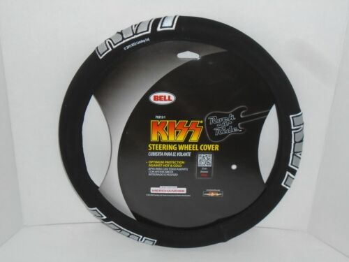 KISS STEERING WHEEL COVER   -   NEW IN PACKAGE  -  FREHLEY CRISS SIMMONS STANLEY