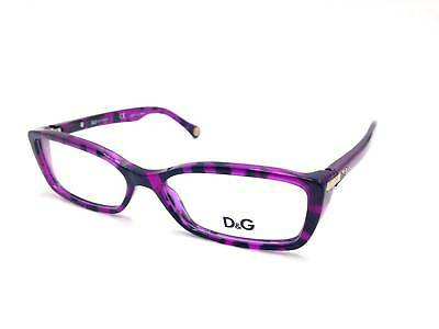 $322 DOLCE & GABANNA WOMENS PURPLE EYEGLASSES FRAMES GLASSES OPTICAL LENSES 1219