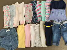 Brand New Condition Girls Baby Clothes, 58 Pieces! - Sizes: 000,00,0 Griffin Pine Rivers Area Preview
