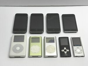 $70 Lot 9 iPhone & iPod PARTS REPAIR 3G 3GS Classic Touch Mini