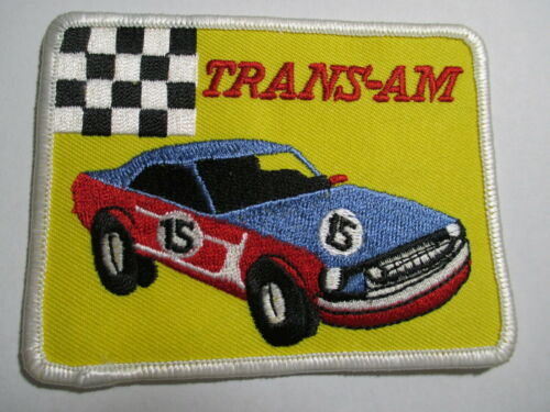 Trans - AM Smokey & The Bandit Vintage Embroidered patch NOS  3 7/8 X 3 INCHES
