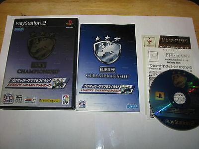 Pro Soccer Club o Tsukurou Europe Championship Playstation 2 PS2 Japan US Seller