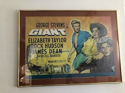 Framed Movie Poster 1956