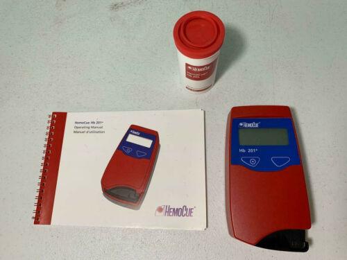 HemoCue Hb 201+ Hemoglobin Analyzer Includ 50 Microcuvettes Hb 201+