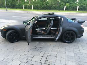 Very Clean Mazda RX8-Sunroof-Mags-Black Matte-Leather interior