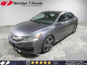2017 Honda Accord Touring| Loaded| Leather| Navi|