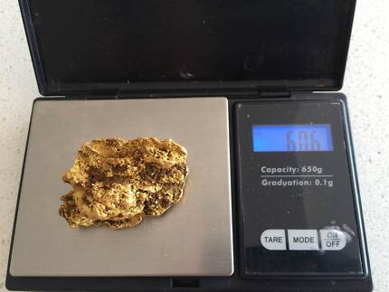 Awesome Genuine 59gram Gold Nugget from WA - Star Wars Mount Lawley Stirling Area Preview
