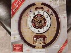 Seiko Melodies in Motion QXM554BRH Wall Clock