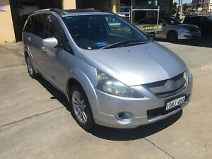 2006 Mitsubishi Grandis VR-X 7 Seater Wagon +  3 YEAR WARRANTY Beaconsfield Fremantle Area Preview
