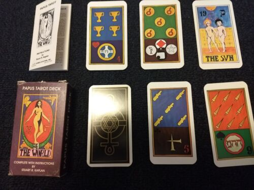 Papus Tarot Deck.1982 With Booklet. - $39.77