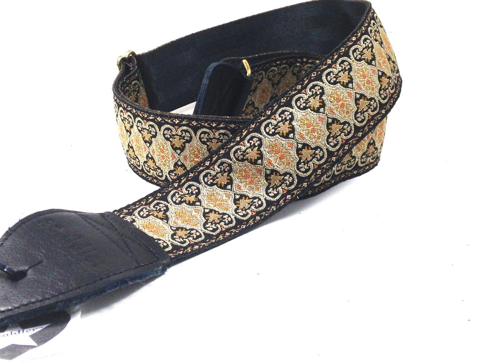 Souldier 2 Persian Black Guitar Strap