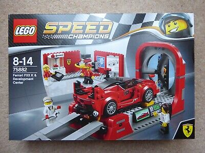 LEGO 75882 Speed Champions Ferrari FXX K & Development Centre - New & Sealed