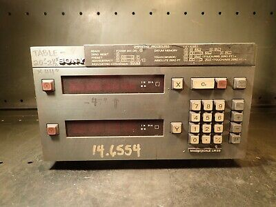 Sony Magnescale Lm20-22 2-axis Digital Read Out Dro .001 Resolution Used Good