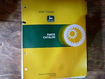 John Deere 6030 Tractor Parts Catalog Manual Book Original Pc-1290