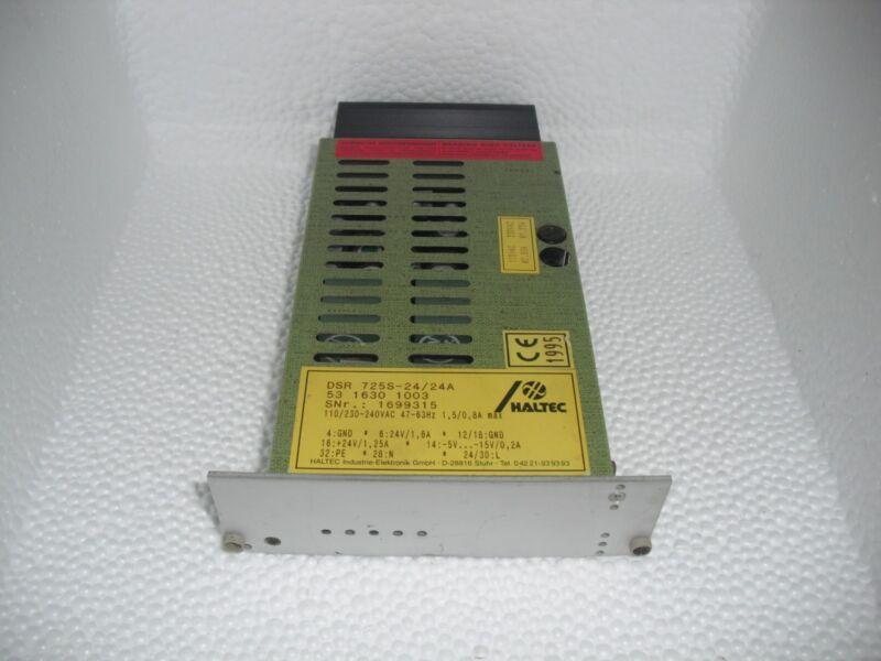 Haltec Dsr 725s-24/24a Ac/dc Power Supply