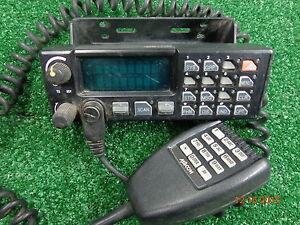 GE Ericsson Orion M7100 VHF Mobile radio Control Head w/ DTMF Back Lite Mic #A22