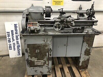 South Bend 9x24 Metal Lathe With Tooling On Original Base 110volt