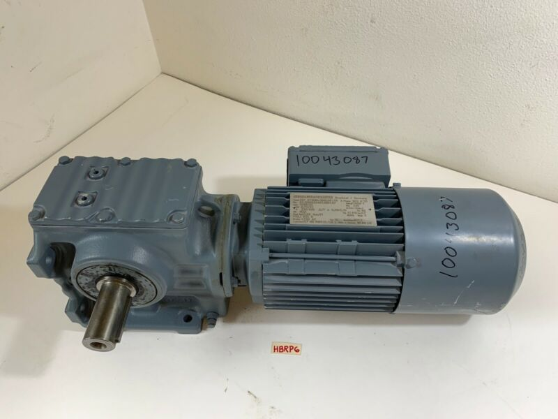 Sew-Eurodrive S57 DT80N4/BMG/HF/TH .75kW/1Hp W/Gear Reducer And V230 Brake *New*