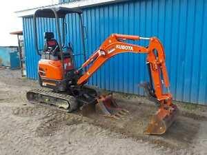 2017 Kubota U17 HGS Pelle excavatrice .