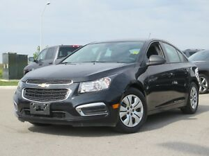 2016 Chevrolet Cruze 2LS, One Owner, 6 Speed, A/C, Black Friday