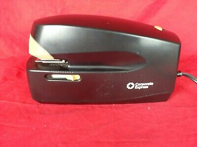 Corporate Express Model 5991 Electric Automatic Office Stapler Black 25 Sheet