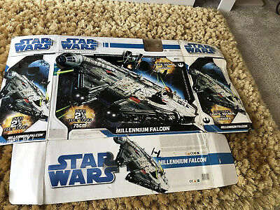 STAR WARS MILLENIUM FALCON LEGACY COLLECTION **BOX ONLY**