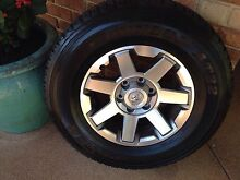 2015 TOYOTA FJ Land Cruiser - Rims & Tyre - 17 Inch - Great Cond West Swan Swan Area Preview