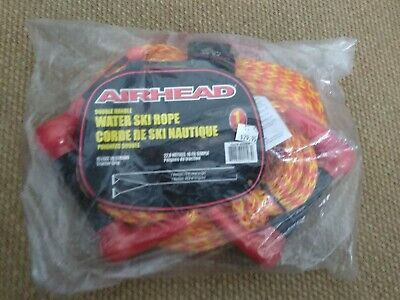 Airhead double handle water ski rope AHSR-6 total length 75 feet New