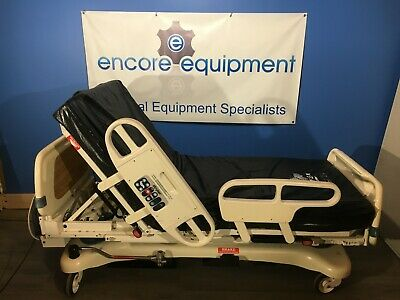 Stryker 3002 Secure 2 Hospital Bed W Zoom Drive New Isoflex Mattress....se Ad