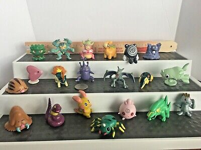 LOT 20  Pokemon Mini Figures      Nintendo  Tomy    CGTSJ   Tony