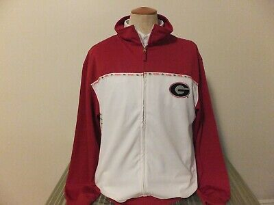 Georgia Bulldogs  Mens Jacket Wind Breaker Size XL for sale  Shipping to India