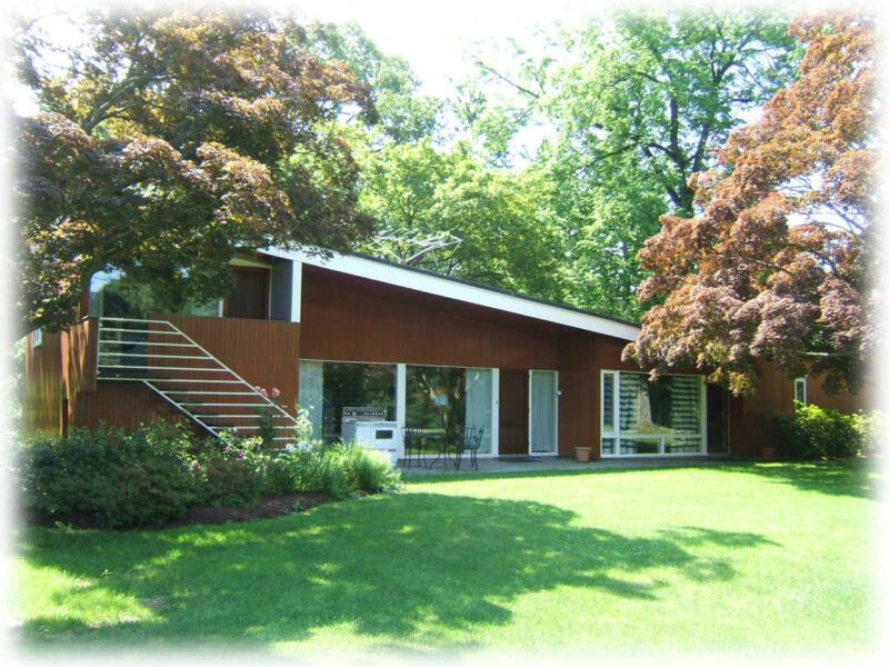 Mid-century Modern home design, stylish, flexible plan, architectural plans