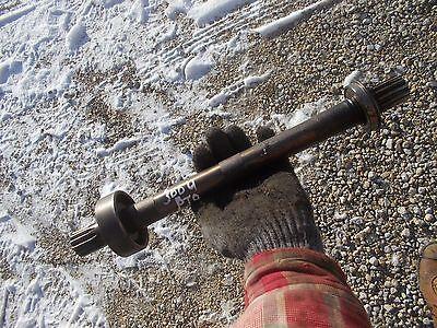 International 300 Utility Tractor IH PTO Power Take Off input shaft & bearing ()