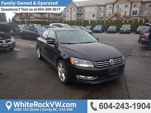 2013 Volkswagen Passat 2.0 TDI Highline Power Moonroof, Cruis...